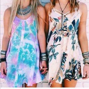 LF Rumor Boutique Tie Dye Mini Dress